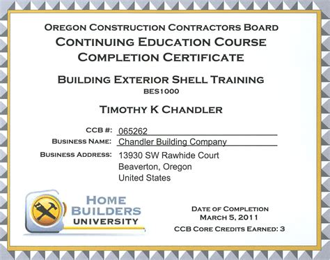 continuing education certificate template who needs continuing education credits chandler