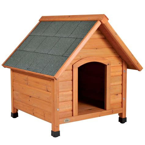 roof dog house trixie natura pitched roof dog house petco