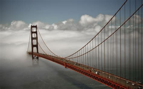 the bridge and the golden gate bridge the golden gate bridge wallpaper 1207492