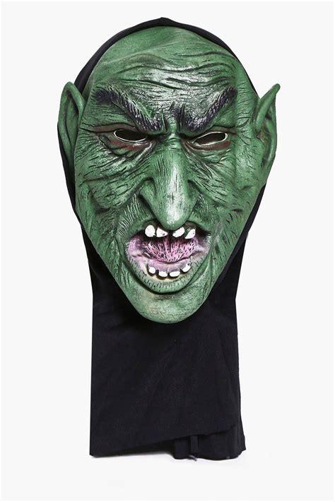 printable goblin mask halloween goblin mask at boohoo com