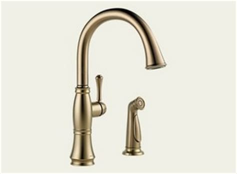 Bach Faucet by Delta Delta Cassidy Single Handle Kitchen Faucet With