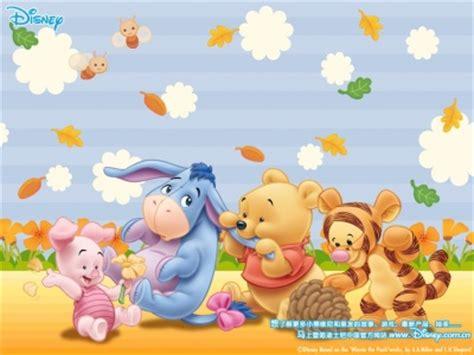 imagenes de winnie pooh bebe y sus amigos imagen tierna de pooh y sus amigos bebes