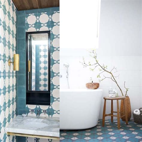 White Bathroom Vanity Ideas by Moroccan And Cement Tile Becki Owens