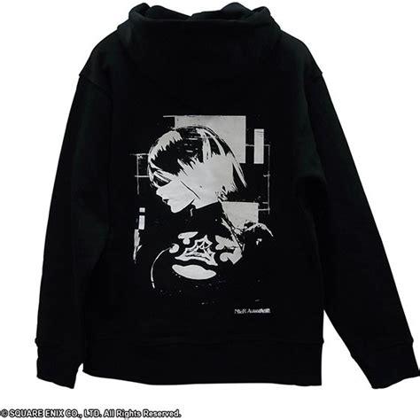 Hoodie Yorha Nier Automata nier automata hoodie 2b black
