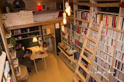 tiny library nomadic bookseller travels all over france with his tiny