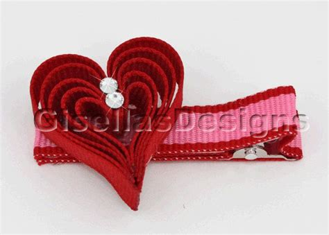 valentine ribbon sculptures instructions 17 best images about hearts on pinterest hair clips