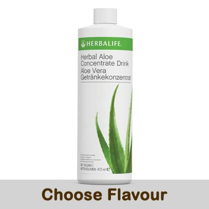 Herbalife Aloe Vera Concentrate herbal aloe concentrate 473ml healthy shake outlet uk