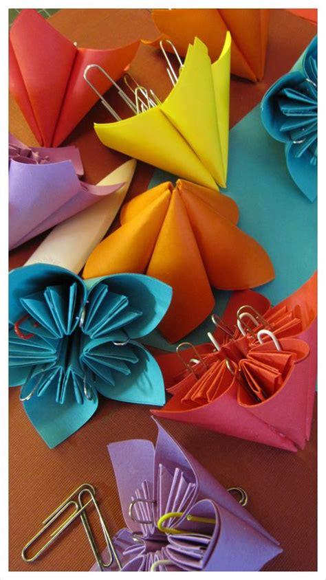 diy divas origami flower favors origami