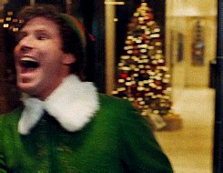 ferrell christmas gif find share  giphy