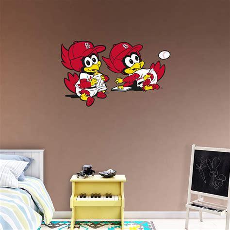 st louis cardinals bedroom decor st louis cardinals mascot rookie league