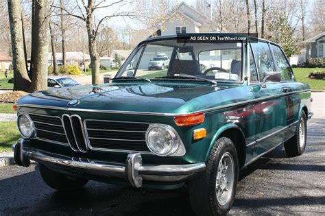 1972 bmw 2002 tii 1972 bmw 2002 tii green with brown interior