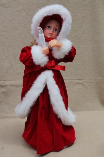 christmas animated figures large moving dolls angel
