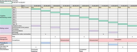 5 Templates Of Social Media Content Plan To Improve The Strategy Content Strategy Template