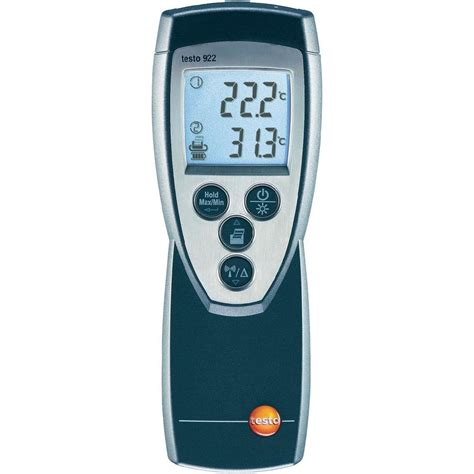 Thermometer Testo thermometer testo 922 50 up to 1000 176 c sensor type k from conrad