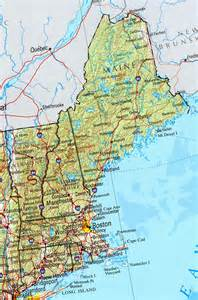 Where Is New England On The Map by Online Maps New England States Map
