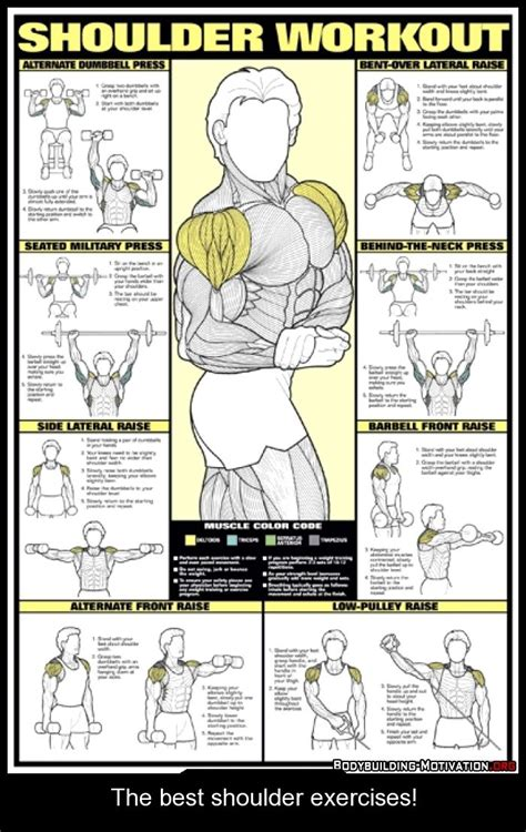 17 best ideas about shoulder workout on