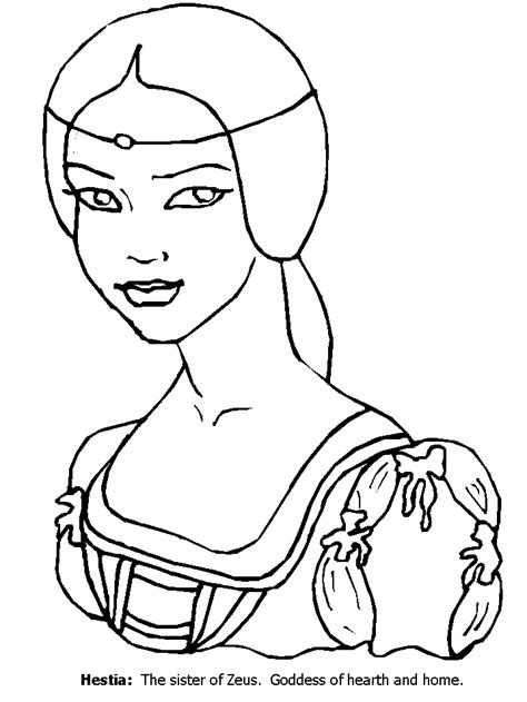 Aphrodite Coloring Page by Aphrodite Coloring Page Coloring Home