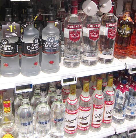 Top Shelf Russian Vodka by From Russia With Credibility