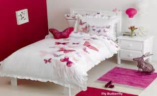 Childrens Single Duvet Sets Fly Butterfly Kids Bedding By Whimsy