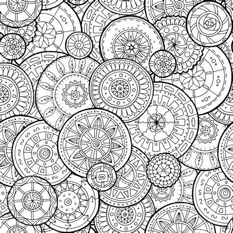 imagenes de mandalas florales mandalas florales 233 tnicos garabatear c 237 rculos de fondo en
