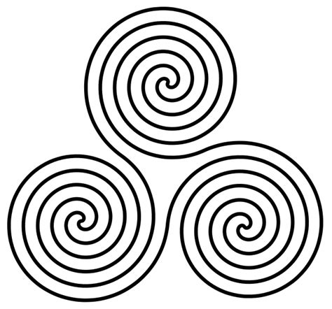 spiral template wayward artists patterns