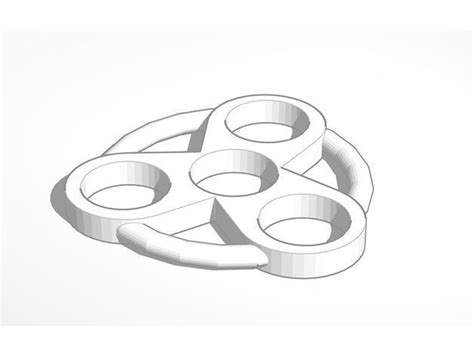 Atomic Fidget Spinner 3d Printable Model Cgtrader 3d Printed Fidget Spinner Template