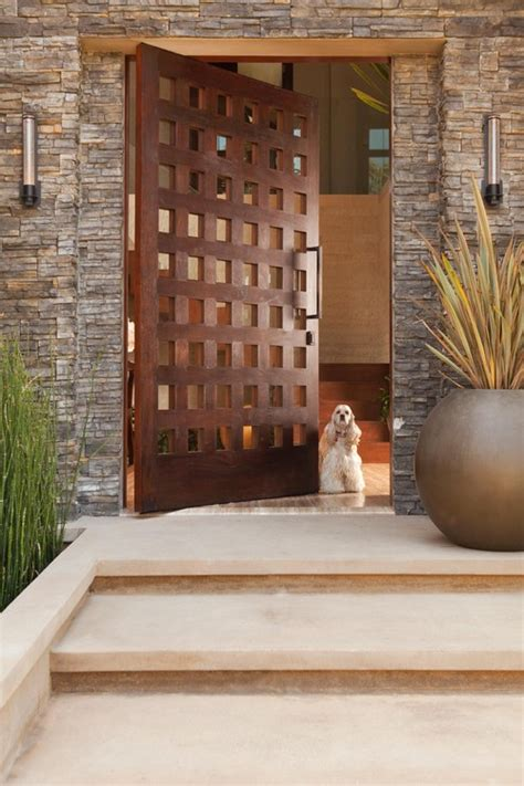 modern front door decor 12 seriously cool front door designs that will boost your