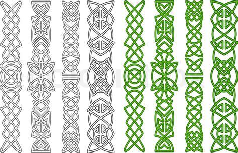 cornici medievali celtic ornamente und elemente vektorgrafik colourbox
