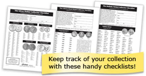 printable quarter collector collector checklists littleton coin company