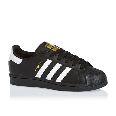 Adidas Originals Black adidas originals superstar foundation j trainers black
