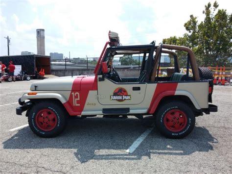 Jurassic Park Jeep Wrangler For Sale 1994 Jeep Wrangler Jurassic Park Replica 12