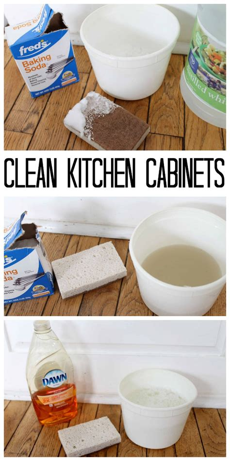 the best way to clean kitchen cabinets the country chic