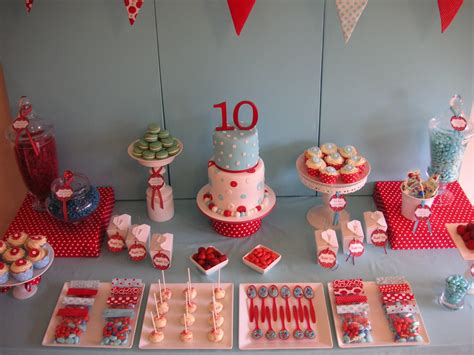 themes for a girl s 10th birthday party coolest cupcakes anya s 10th birthday polka dot party