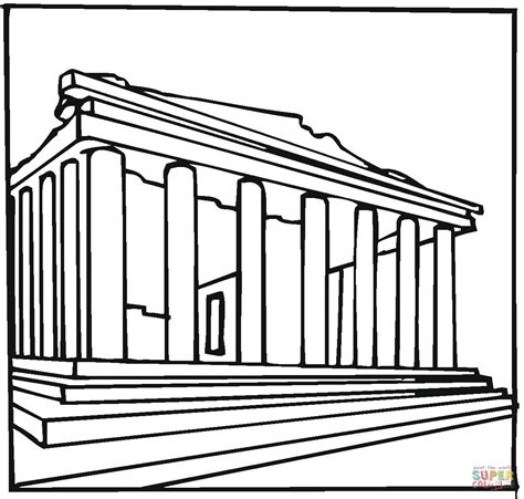 301 Moved Permanently Ancient Greece Coloring Pages