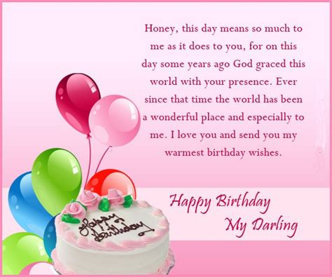 Husband Birthday Card Message 125 Best Romantic Birthday Wishes For Wife Loving
