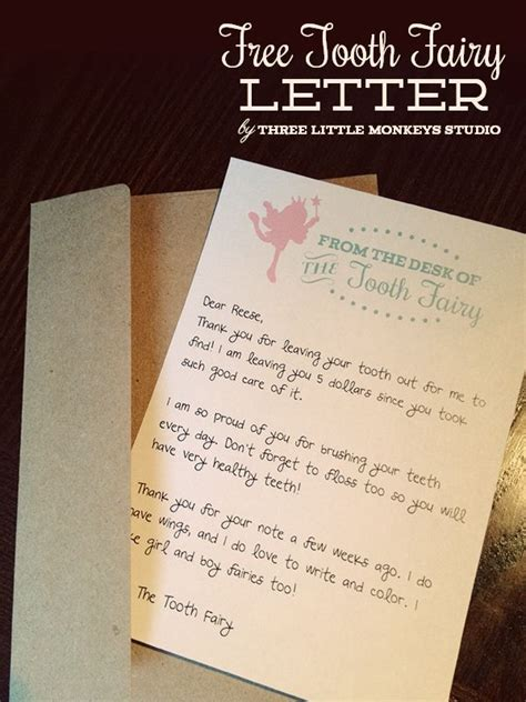 christmas archives three little monkeys studio free tooth fairy letter by three little monkeys studio