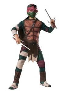 turtle halloween costumes ninja turtle movie child raphael