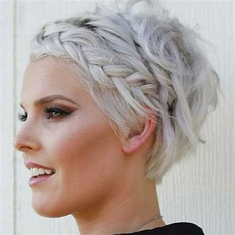 braided hairstyles in short hair 15 braided hairstyles for short hair short hairstyles