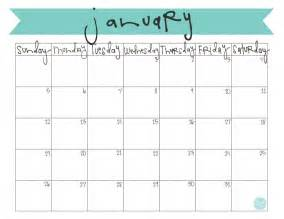 Monthly Calendar Templates 2014 by 2014 Monthly Calendar Printable Calendar Template 2016