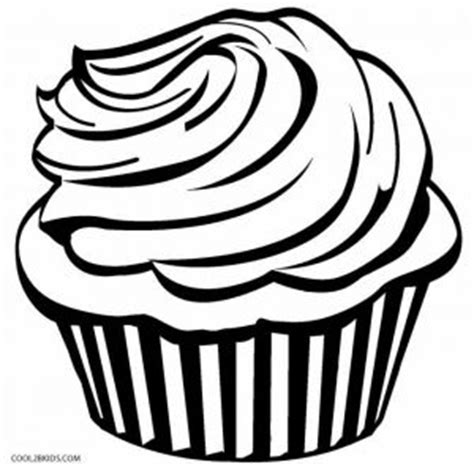printable cupcake coloring pages  kids coolbkids
