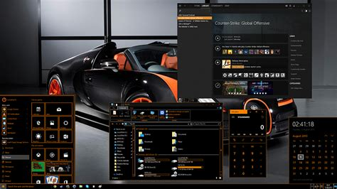 orange themes for windows 10 high contrast themes in w8 1 and w10 page 2 windows 10