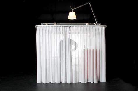 portable curtains hotello portable hotel room by antonio scarponi roberto
