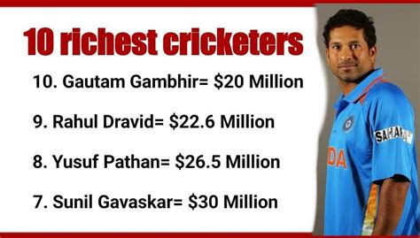 top 10 richest cricketers in india 2017 the youth