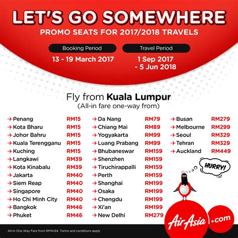 airasia promo airasia free seats zero fares flight ticket booking 13