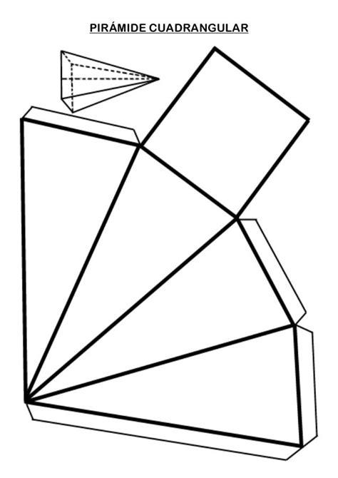 figuras geometricas basicas para armar pir 193 mide cuadrangular cuerpos geometricos pinterest