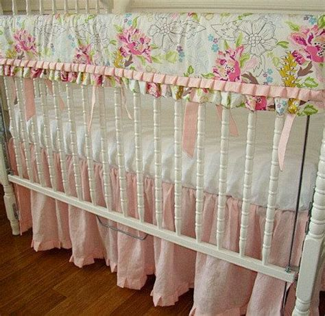 light pink crib bedding pinterest