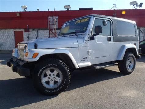Jeep Wrangler Years 2005 Jeep Wrangler Tj Year End Clearance Unlimited 4wd