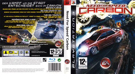 Dvd Original Playstation 3 Bluray Need For Speed need for speed carbon german ps3 cover german dvd covers