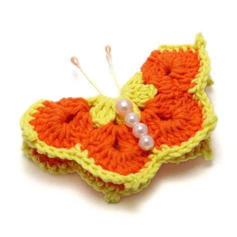 Bros Batu Besar Kuning Orange bros rajut kupu kupu cantik crafts