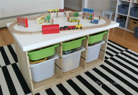Floor And Decor Address an ikea hack train amp activity table the crazy craft lady